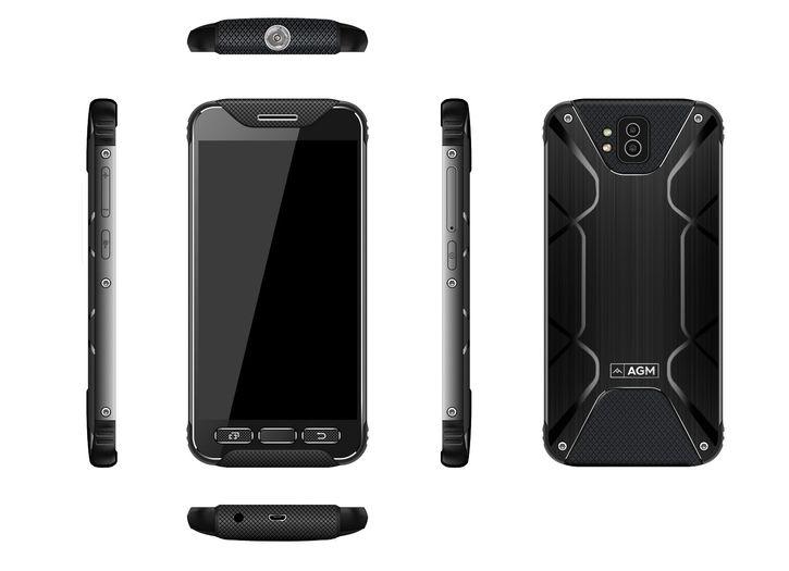 Защищенные мобильные телефоны AGM X2/X2 Pro получат лучшие спецификации