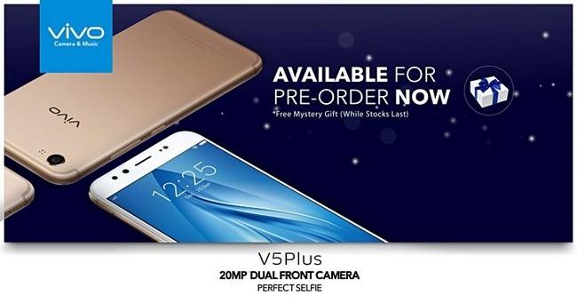 Начался прием заказов насмартфон Vivo V5 Plus сдвойной камерой