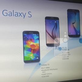 Galaxy S7 показали на презентации