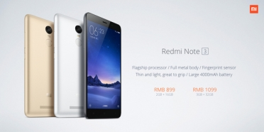Xioami ��������� Redmi Note 3