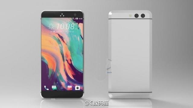 HTC 11 появился на рендере