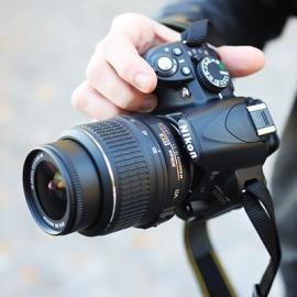 ����� ������ � ����������. Nikon D3100
