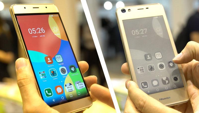 «Убийца» русского YotaPhone: Представлен бюджетный смартфон Hisense A2 с 2-мя экранами