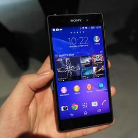 ����������� Sony Xperia Z4 � ����� SIM-�������