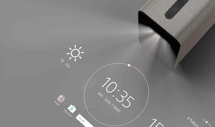 Сони представила проектор, способный превратить любую поверхность всенсорный дисплей