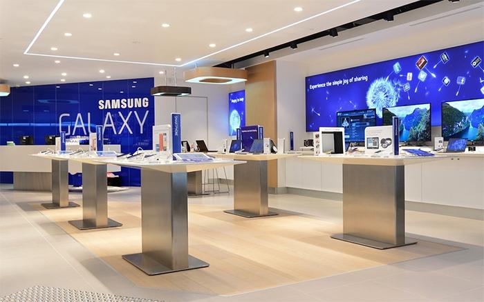 Samsung увеличил продажи в России в два раза за два года