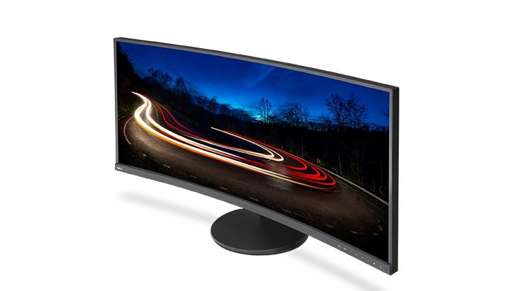 Acer XR382CQK— 38-дюймовый изогнутый монитор сразрешением 3440 х1600 точек