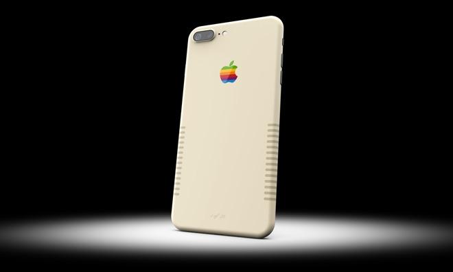 Компания выпустила iPhone 7+ в стиле ретро-компьютеров Macintosh (новость о iPhone 7 Plus)