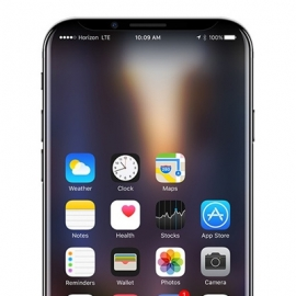 Новый айфон может быть похож на Galaxy S7 Edge