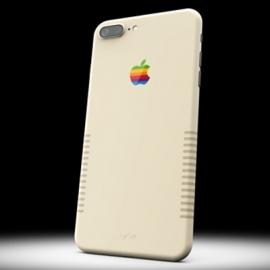 Компания выпустила iPhone 7+ в стиле ретро-компьютеров Macintosh