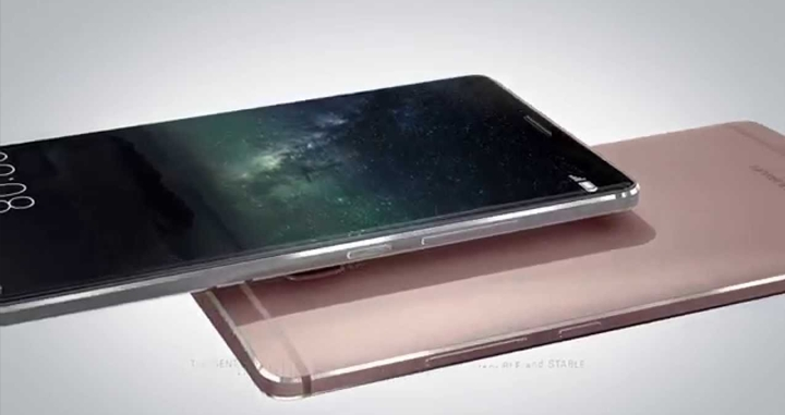 Huawei готовит флагман с дисплеем без рамок