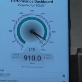 Galaxy S8 пробил потолок скорости мобильного интернета