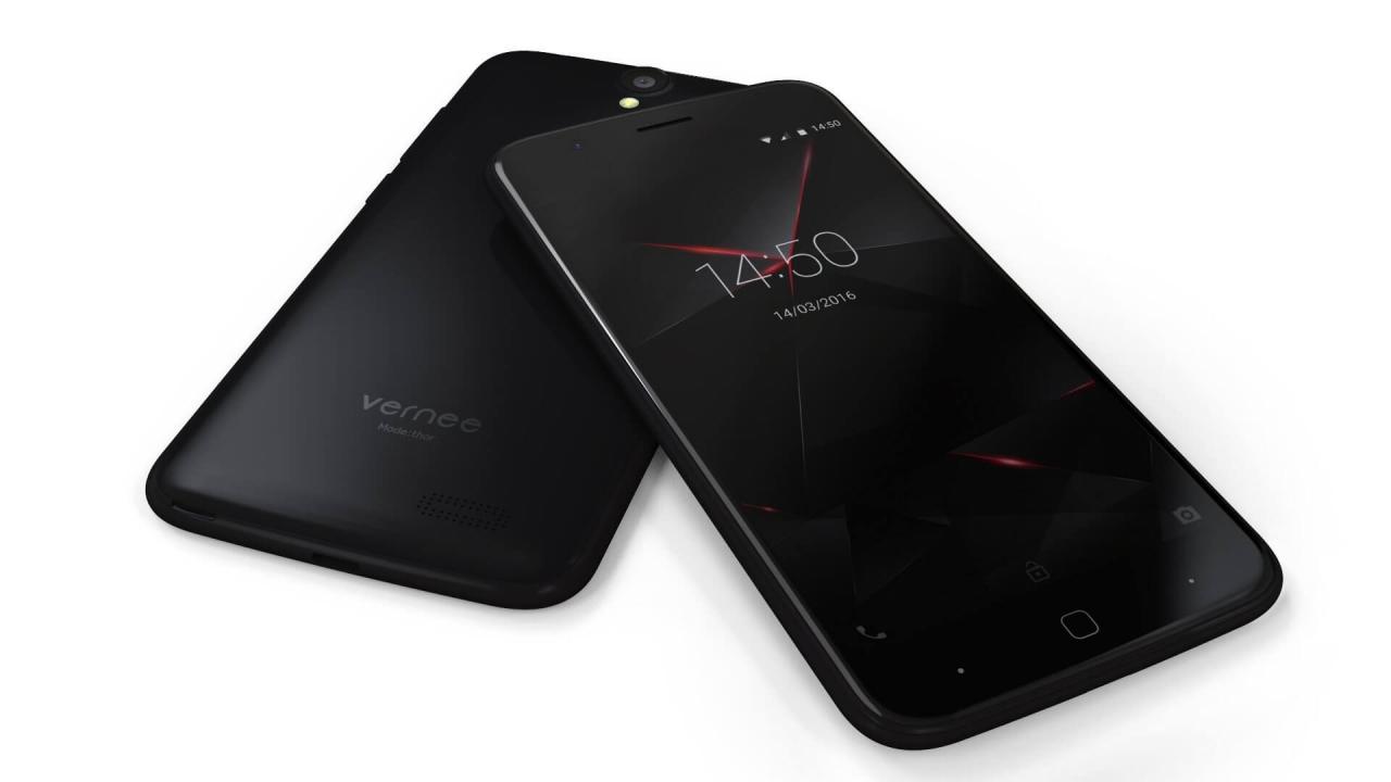 НаMWC 2017 был показан смартфон Vernee Apollo 2
