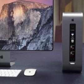 В сети появились концептуальные изображения обновлённого Mac Pro