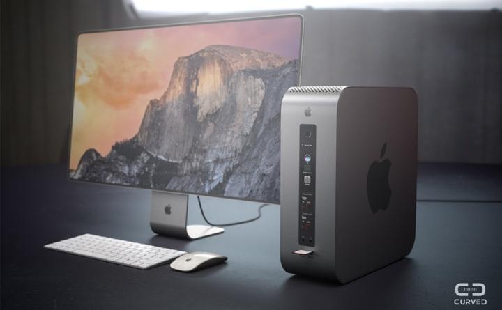 Выдумка натему будущего Mac Pro