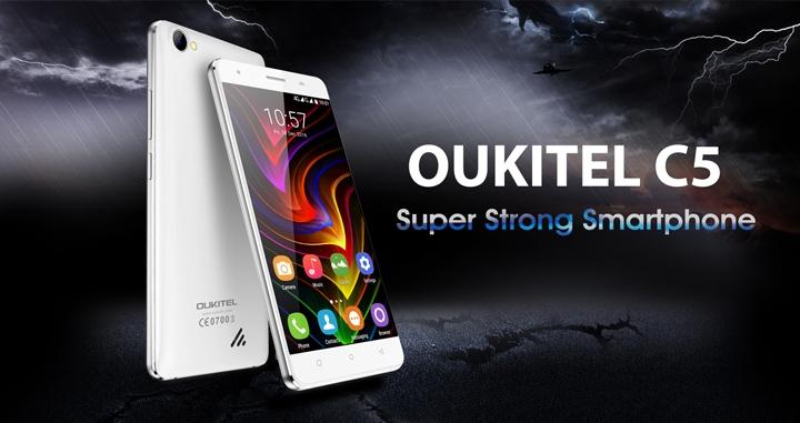 Новая модель телефона Oukitel C5 появится с25апреля впродаже