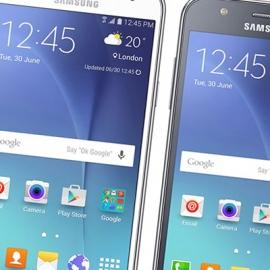 Samsung представила два новых смартфона среднего класса