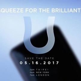 Смартфон HTC U презентуют 16 мая