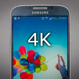Samsung работает над 4К-дисплеем для смартфонов