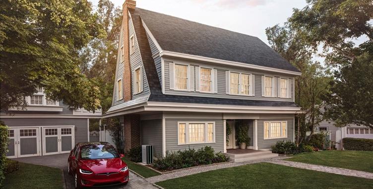 Tesla открыла предзаказ насолнечную крышу