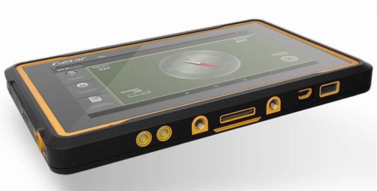 «Прочный планшет откомпании Getac ZX70 оснащён 7» экраном