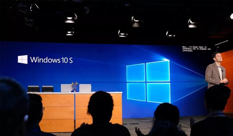 ОС Linux не будет работать вместе с Windows 10S