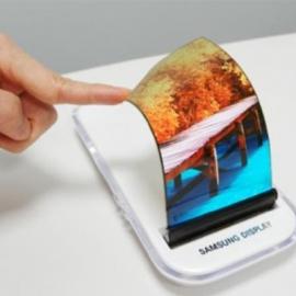 Samsung показала растягивающийся OLED-дисплей