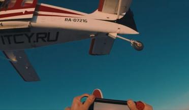 Российский ютубер сыграл на Nintendo Switch во время прыжка с парашюта