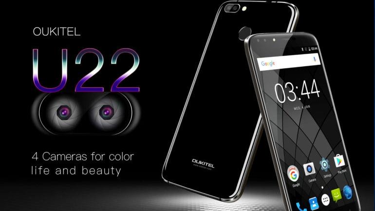 Размещены характеристики телефона OUKITEL U22