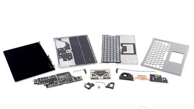 Surface Laptop от Microsoft соврешенно нельзя отремонтировать