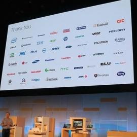 HTC засветилась на стенде Microsoft на Computex 2015