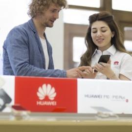 Huawei открыла магазин в России