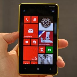 ����� �������� �������������� Nokia Lumia 820