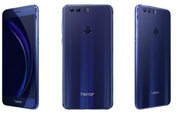Honor 8 представлен официально