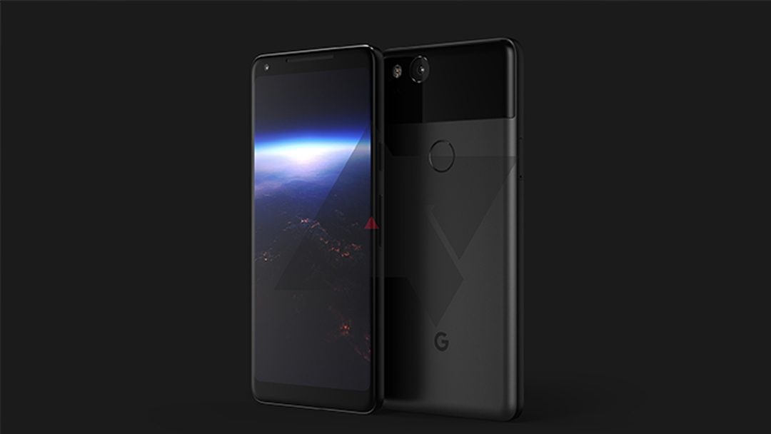 Слухи: Google PixelXL 2 замечен нарендерах