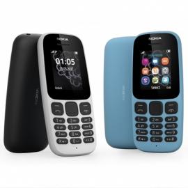 Представлен кнопочный телефон Nokia 105