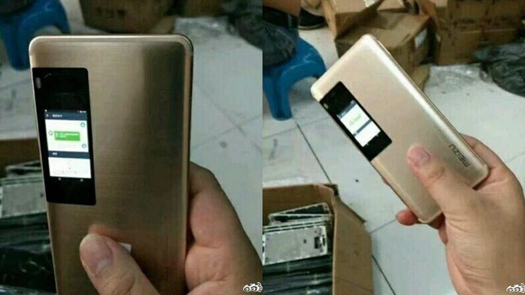 Meizu Pro 7 оснастят вторым диплеем