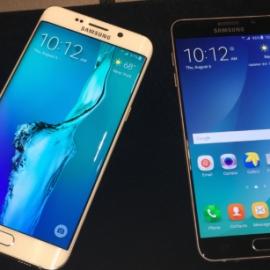 В Нью-Йорке презентовали два фаблета Samsung
