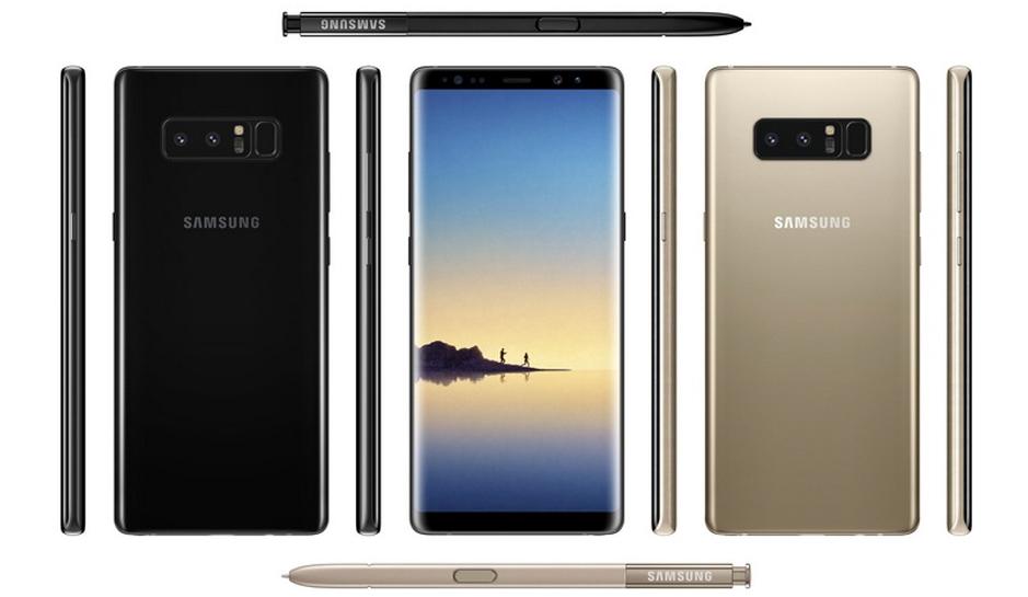 В Сеть утекли финальные характеристики Samsung Galazy Note 8