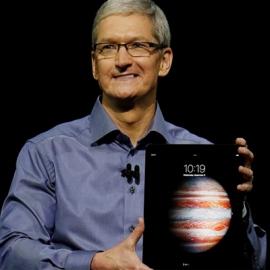 Продажи iPad выросли на 15%
