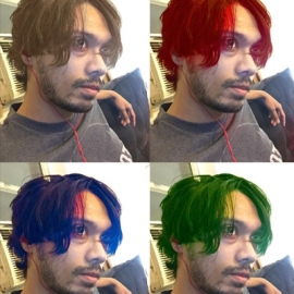 Приложение для перекраски волос скачали 1,5 млн раз