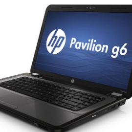 Лэптоп HP Pavilion g6 будет продаваться с нескольким процессорами