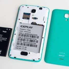 Стали известны технические данные Explay Vega