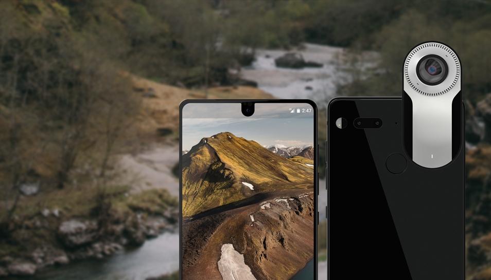 Смартфон Essential Phone поступит в реализацию всередине августа