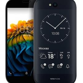Yota Devices снизила стоимость YotaPhone 2 в черном корпусе с 33 990 до 29 990 рублей