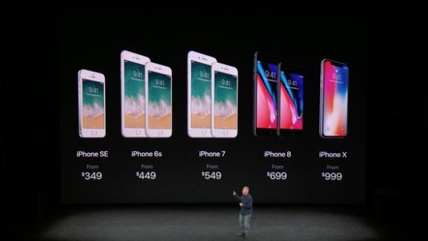Стали известны российские цены на iPhone 8, 8 Plus и Х