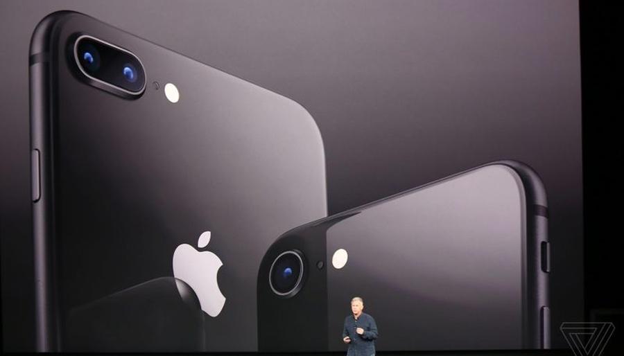 Презентованы смартфоны iPhone 8 и iPhone 8 Plus