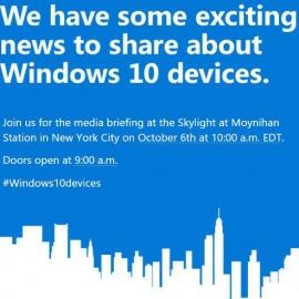 Microsoft высылает приглашения на анонс Lumia 950, 950XL и Surface Pro 4