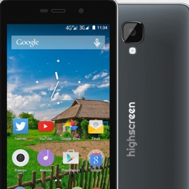 Highscreen Power Four: брутальный смартфон с шикарным аккумулятором