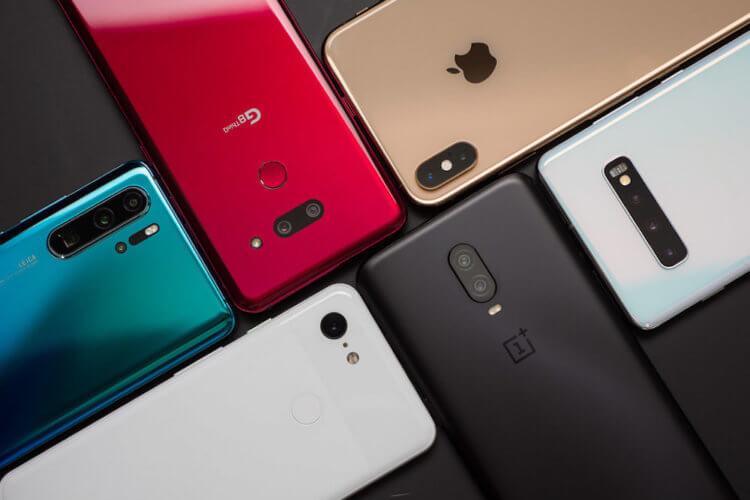 Названы самые популярные в России смартфоны